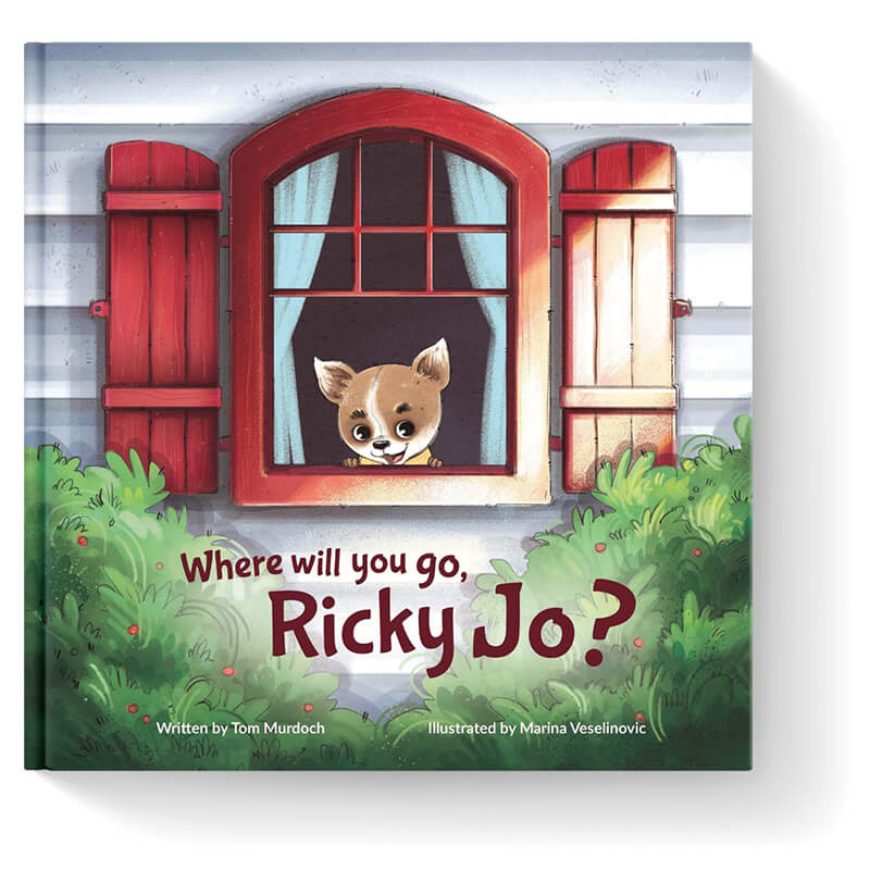 book cover of Where Will You Go Ricky Jo