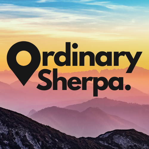 ordinary sherpa podcast art